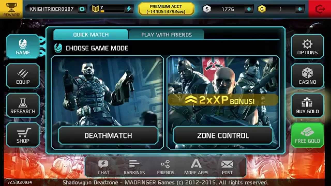 Shadowgun Deadzone Glitches And Hacks In 2020 Game Resources Game Option Free Games