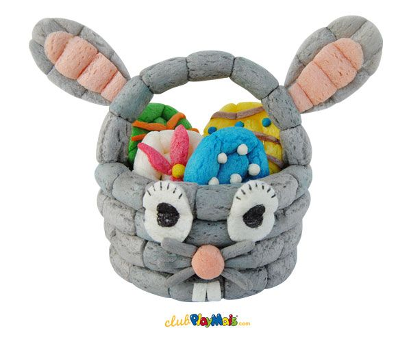 Playmais easter basket playmais pinterest p ques - Magique basket ...