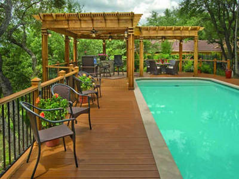 Wonderful Pool Deck Ideas