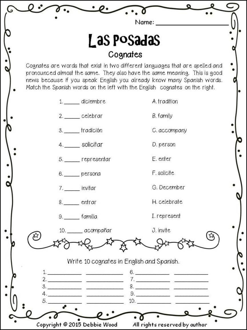 Workbooks las posadas worksheets : Spanish Las Posadas | Spanish, Learn spanish and Spanish lessons