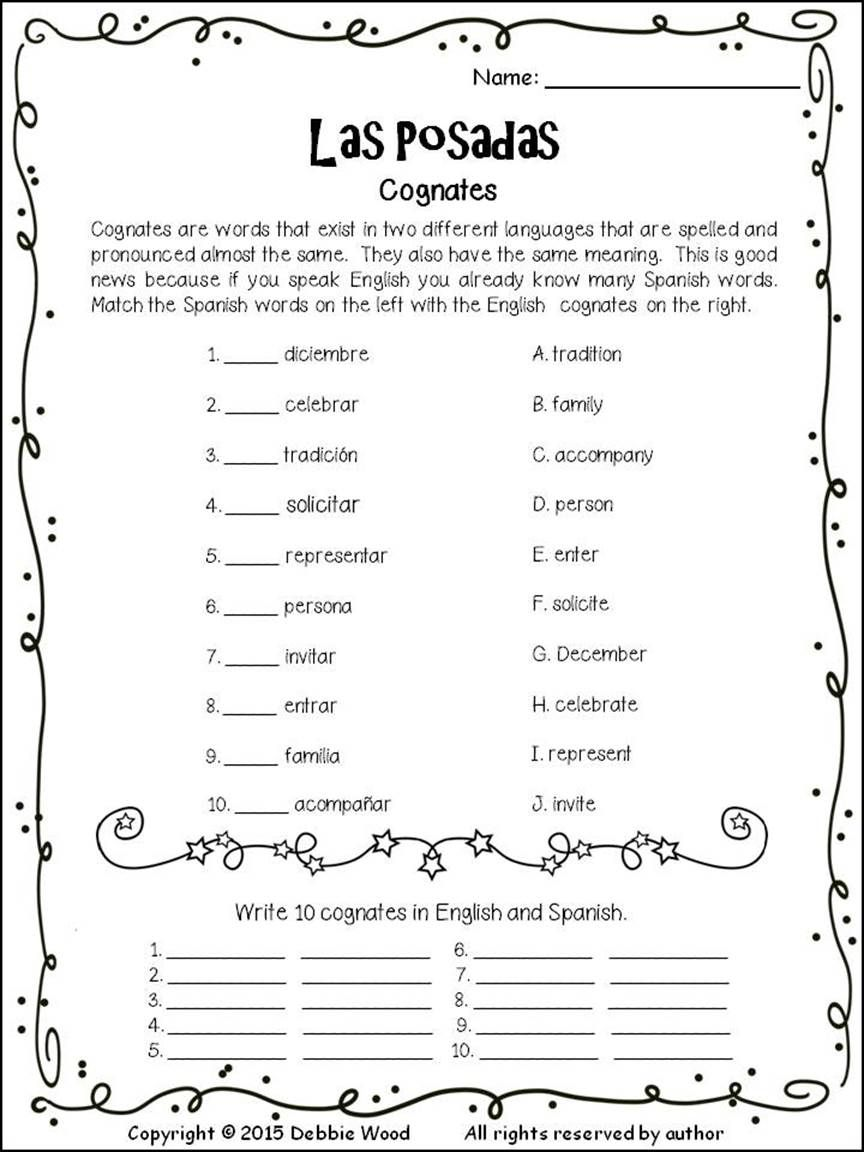 las posadas spanish learning spanish language learning spanish classroom teaching spanish. Black Bedroom Furniture Sets. Home Design Ideas