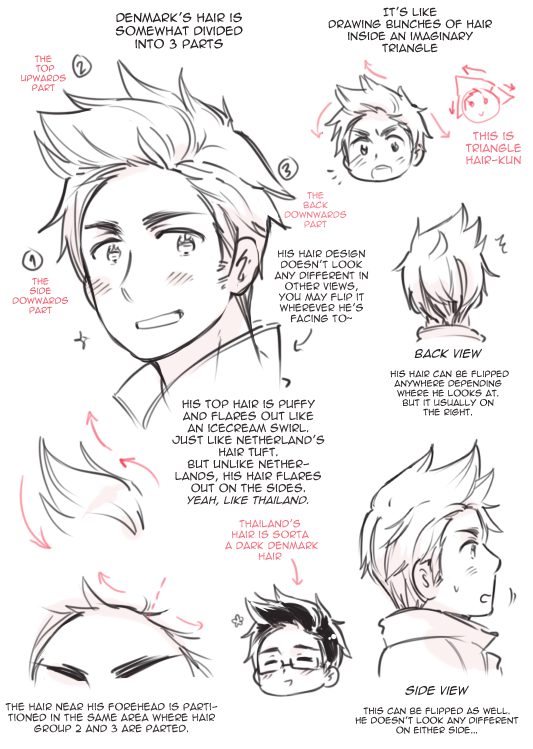 Denmark S Hair By Rosel D On Deviantart Drawing Hair Tutorial How To Draw Hair Guy Drawing