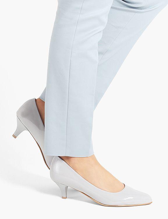 Szpilki Madam Grey Heels Kitten Heels Shoes