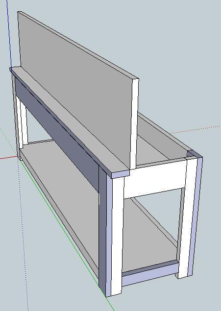 Flip Top Storage Bench Coffee Table Diy Storage Bench