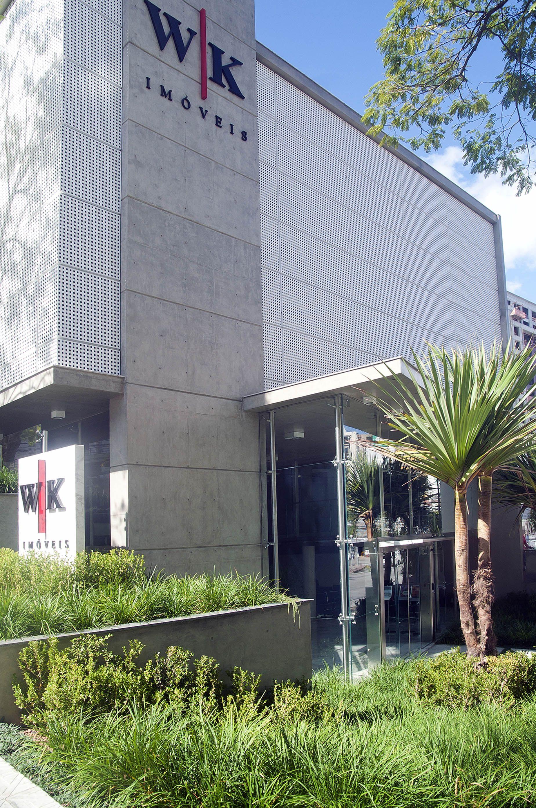 WK Imóveis, Centro, Florianópolis - SC // Projeto em parceria com o Paisagista Baiardotto