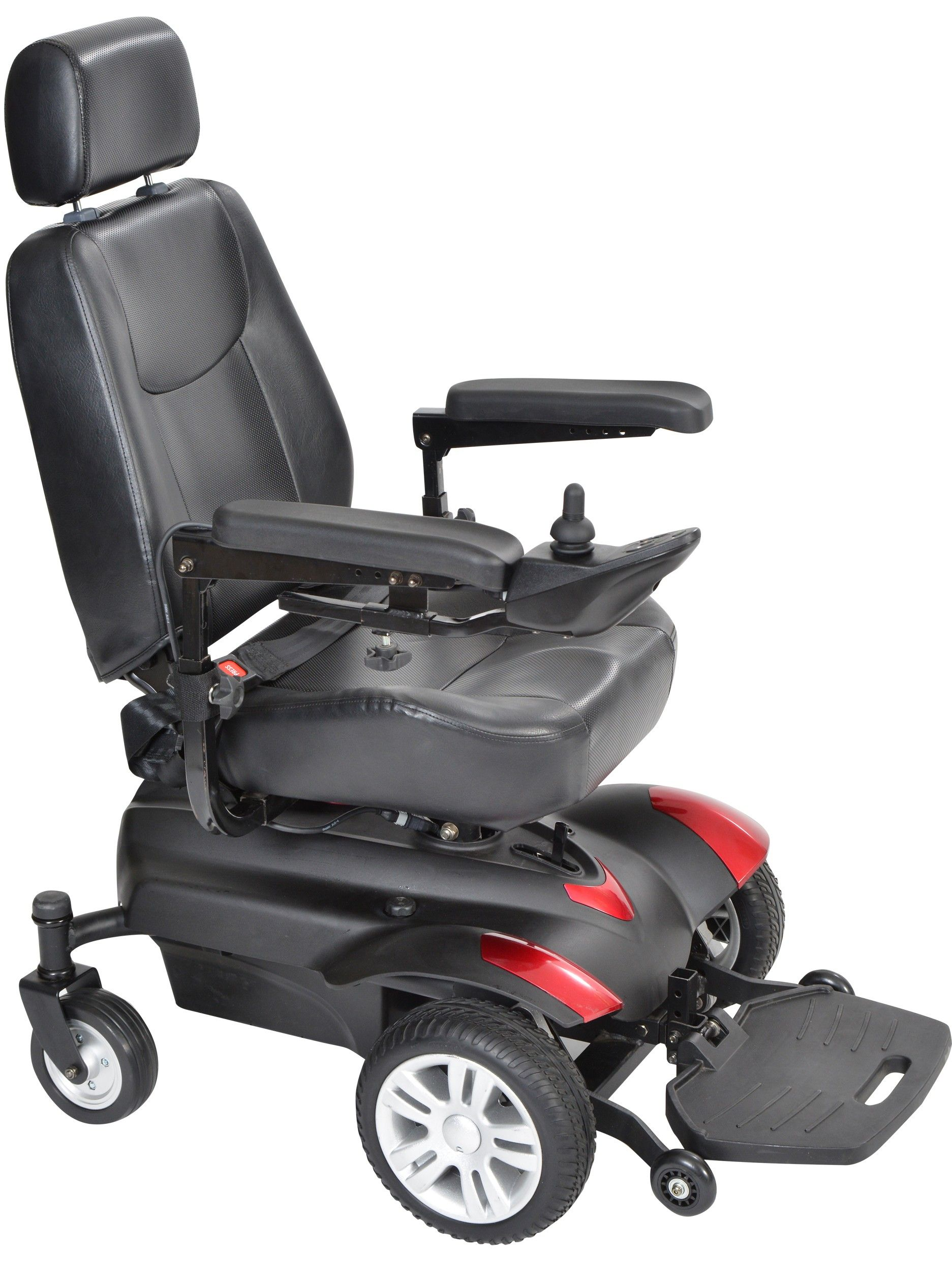 The Titan Power Wheelchair From Drive Medical Powered Wheelchair Power Mobility Electric Wheelchair