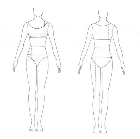 costume design blank form male and female - Google Search ruha - blank fashion design templates