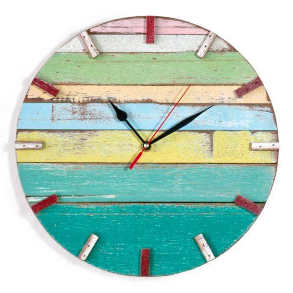 Huntington Spring Reclaimed Wood Wall Clock Wood Clocks Clock