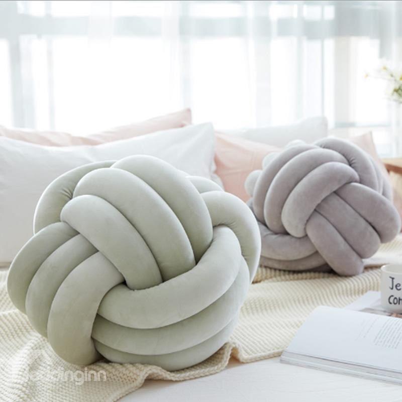 Funny Knot Ball Pillow Baby Calm Sleep Dolls Stuffed Toys Throw Home Decor