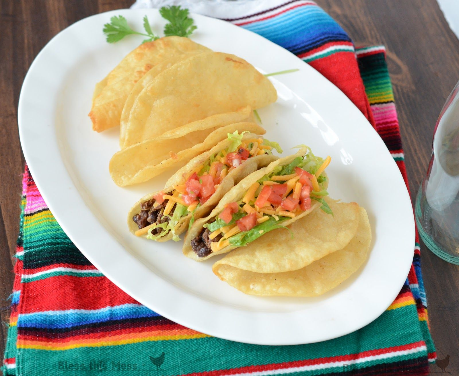 Homemade Hard Corn Taco Shells  Recipe With Images -1686