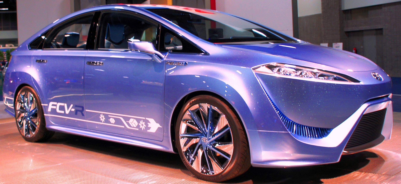 Toyota FCVR Concept Hydrogen car, Fuel cell, Hydrogen