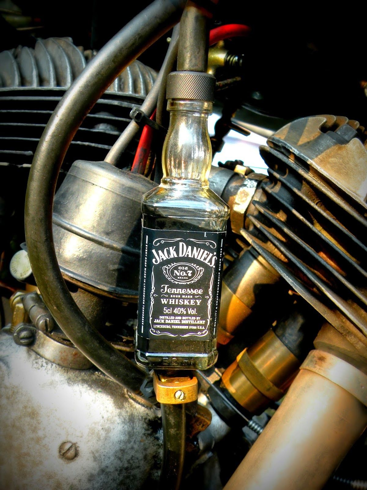 jack daniels oil filter | fuel filter jack daniels motorcycle oil filter | motorcycle  fuel filter, custom motorcycle part was crafted by bastybikes art  if