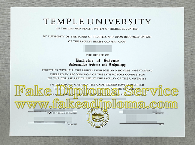 How To Get A Fake Temple University Diploma In A Week Fakeadiploma Com University Diploma Temple University University