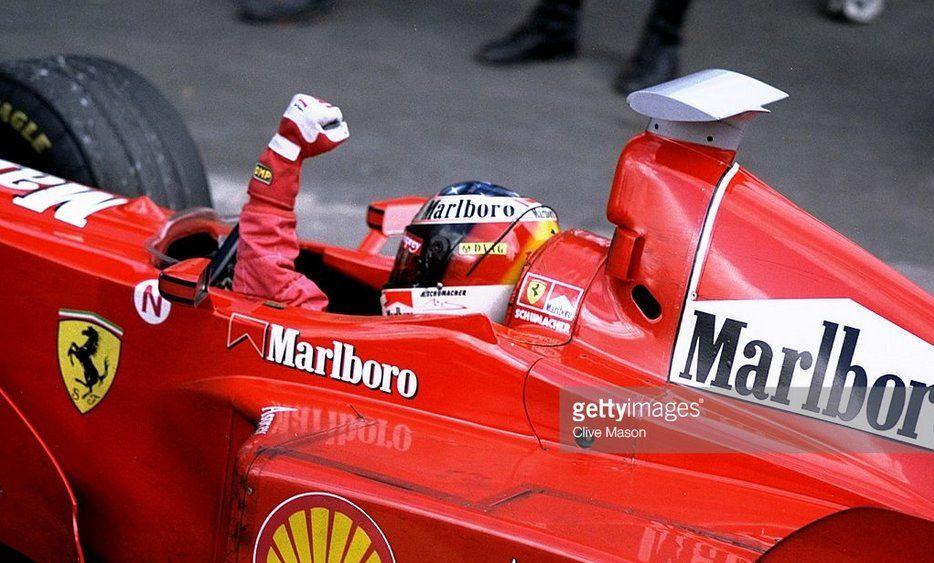 Michael Schumacher Ferrari F300 Ferrari Tipo 047 3 0 V10 Gp Monza 1998 Schumi Formel 1 Fahrer