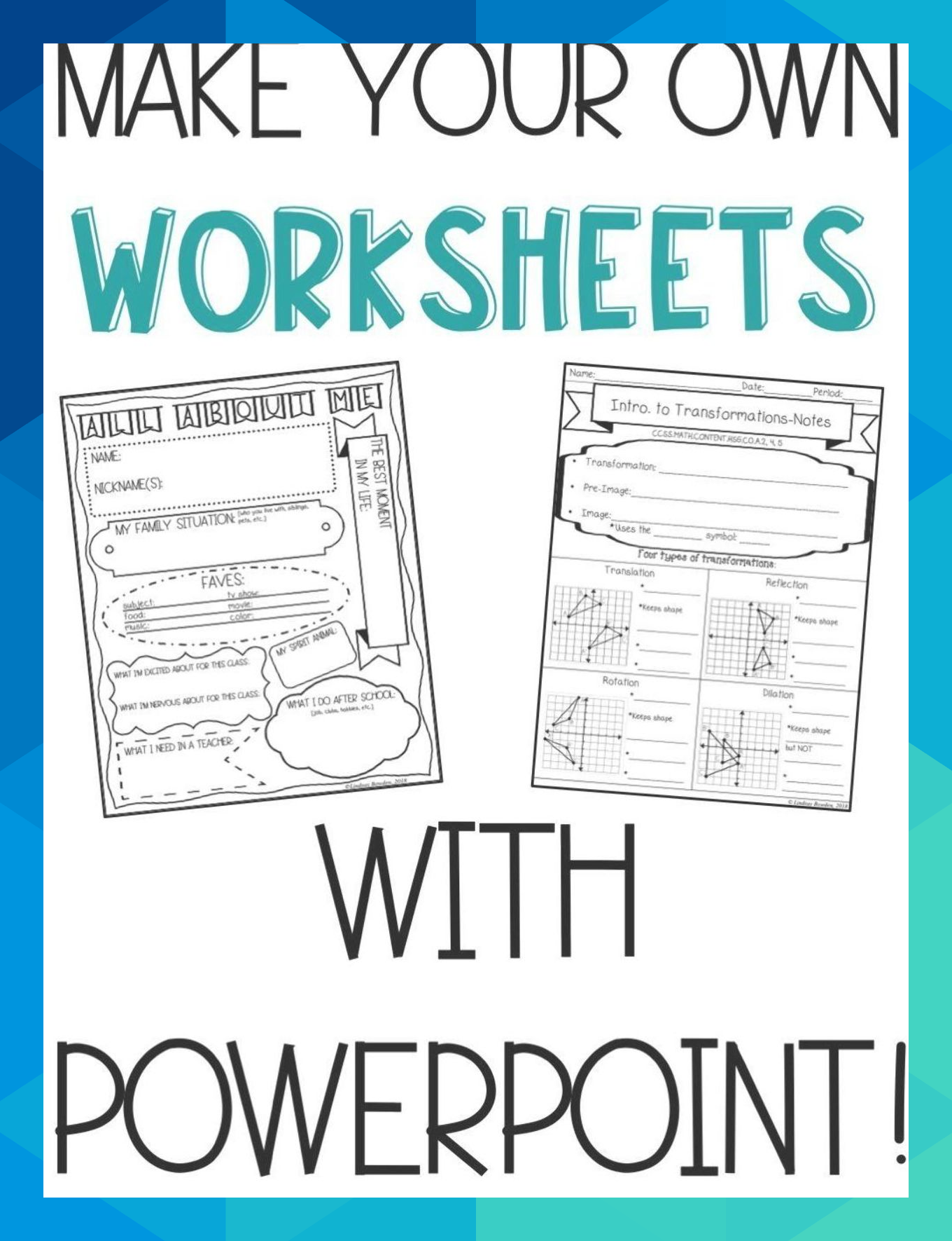 Make Your Own Resources With Powerpoint Six Easy Steps To