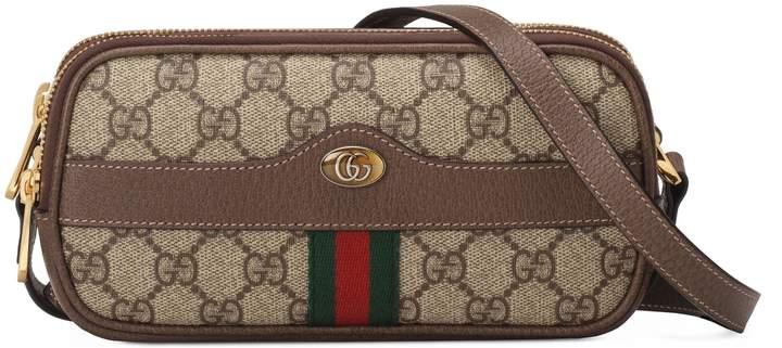 a7d3b1b28efa Gucci Mini Ophidia Gg Supreme Canvas Crossbody Bag - Beige ...