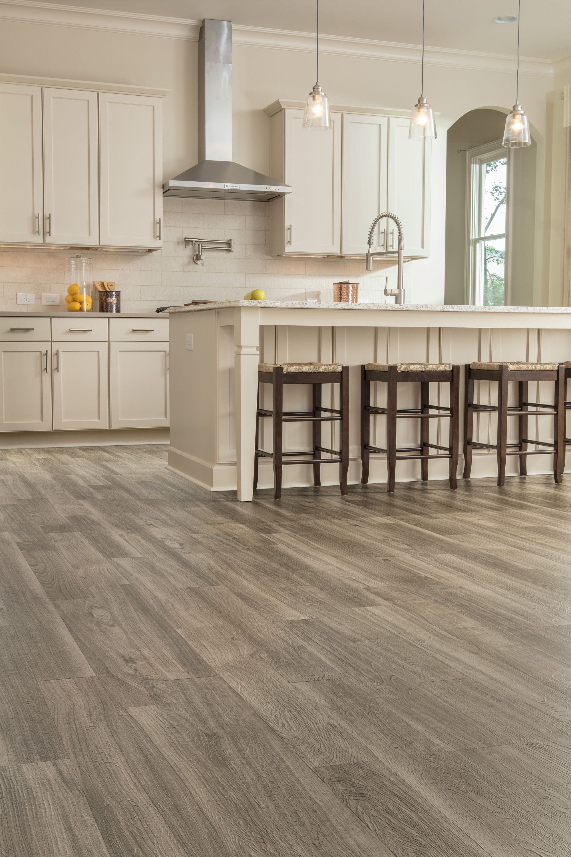 Featuring Luxury Vinyl Plank And Tile Point Of View From Our Design Mix Flooring Solution Empowers You To Custom Floor Design Floor Design Luxury Vinyl Plank