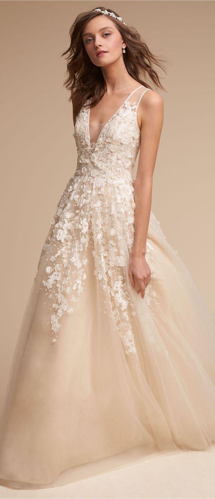 Wedding Dress by BHLDN | Weapons | Pinterest | Vestidos alta costura ...