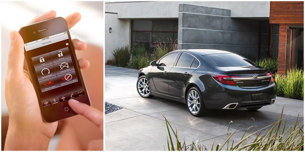 App Etite Buickregal S Available Remotelink Key Fob Services