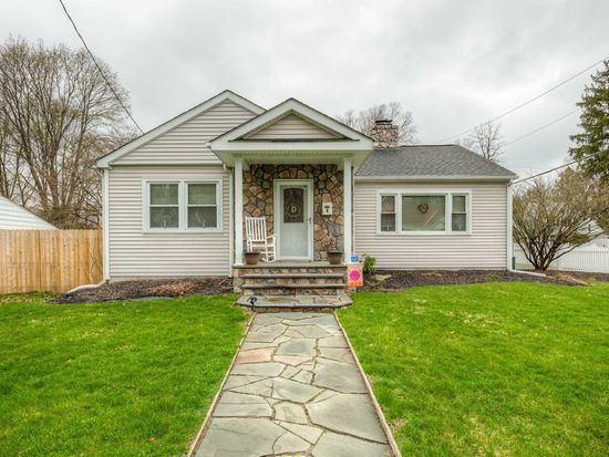 Would you have guessed this 1935 home is actually a ranch? It fooled me! (and it's for sale right now -- 9 Ziegler Ave, Poughkeepsie, NY 12603 | MLS #360279 )