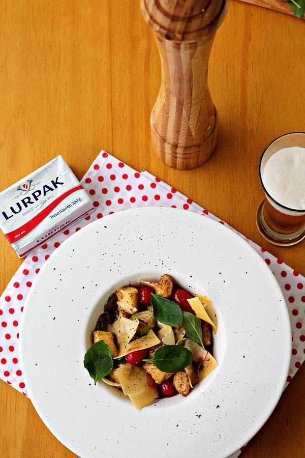 Gnocchi frito pra dias de calor | cozinha pequena