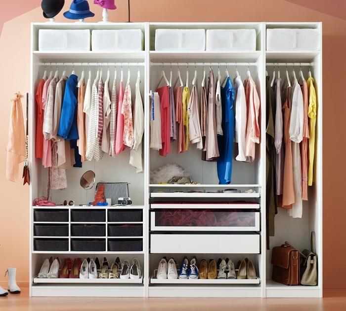 Como hacer un vestidor ikea a medida vestidores - Complementos para armarios ...