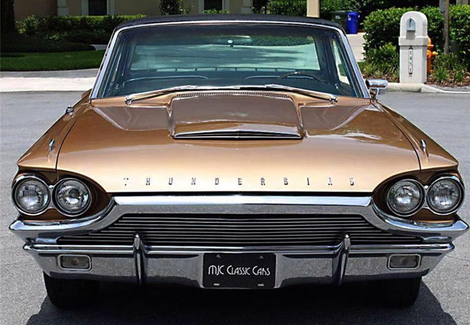 1964 Thunderbird Landau With Images Ford Thunderbird Classic