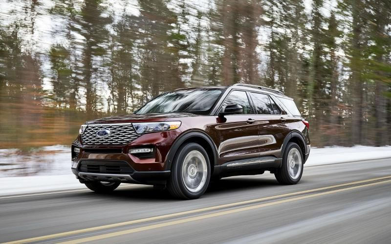 Ford Explorer Platinum 2020 2020 Ford Explorer Ford Explorer New Ford Explorer