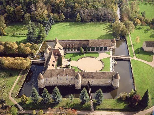 Chateau Ile De France Yvelines Chateau De Villiers Le Mahieu
