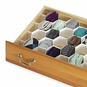Honeycomb Drawer Organizer Dorm Organization Products Stuff Supplies Dorm Organization Drawer Organisers Dorm Room Organization