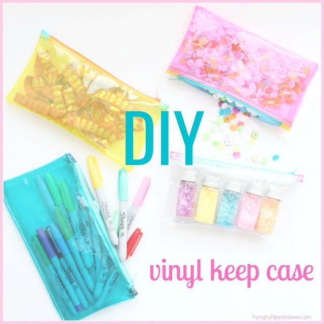 hungryhippie sews: how to sew a vinyl keep case