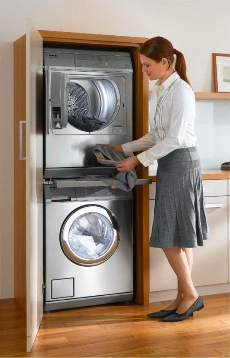Waschmaschinenschrank Fur Eine Praktische Waschkuche Mit Bildern
