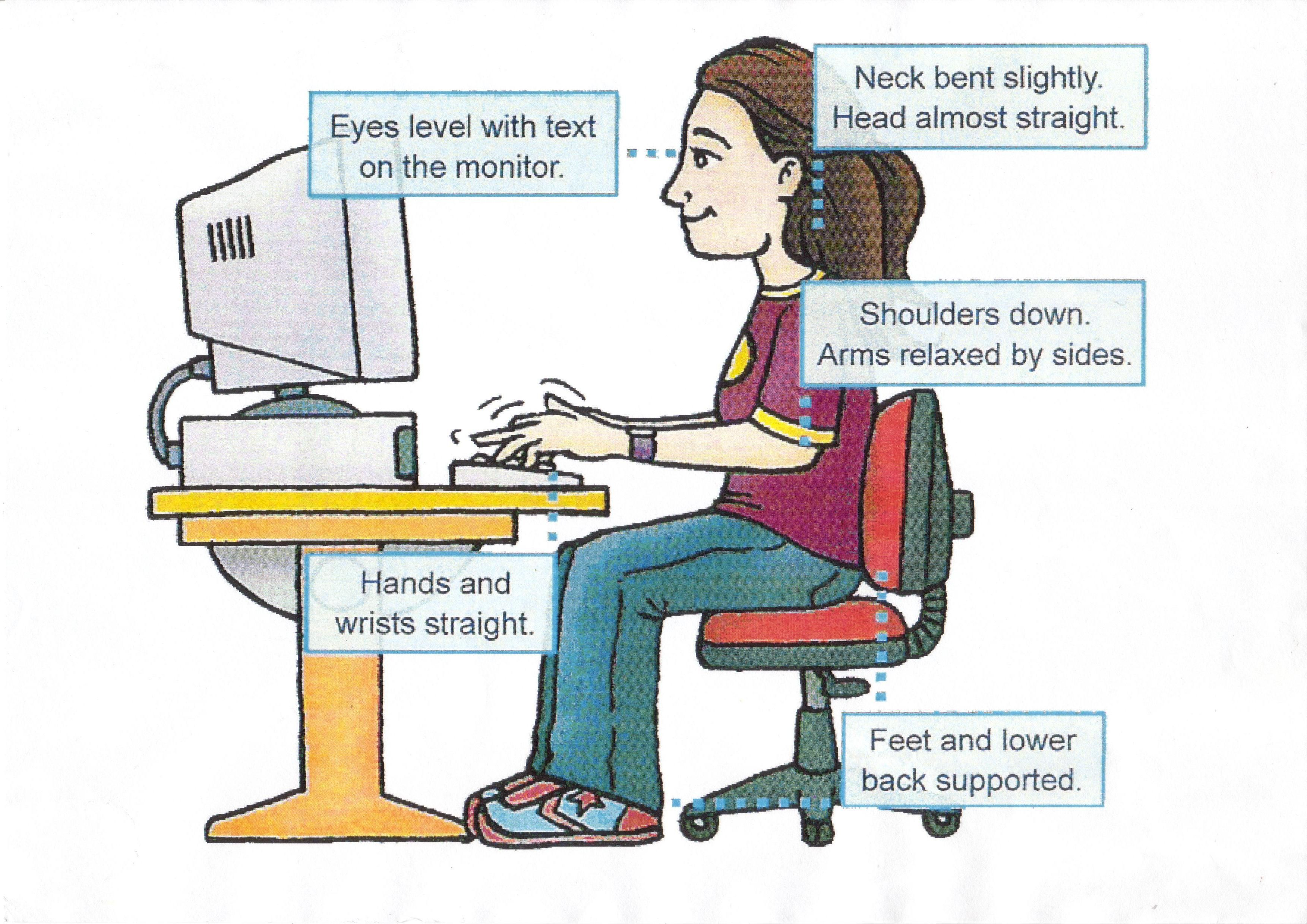 health hazards of using excessive computers Why has using the computer mouse  question-and-answer fact sheets covering a wide range of workplace health and safety topics, from hazards to diseases to .