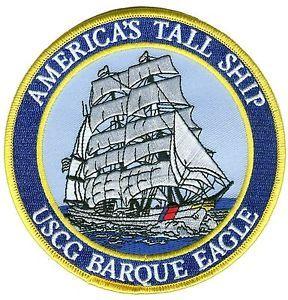 Tall Ship Patch, USCGC Eagle