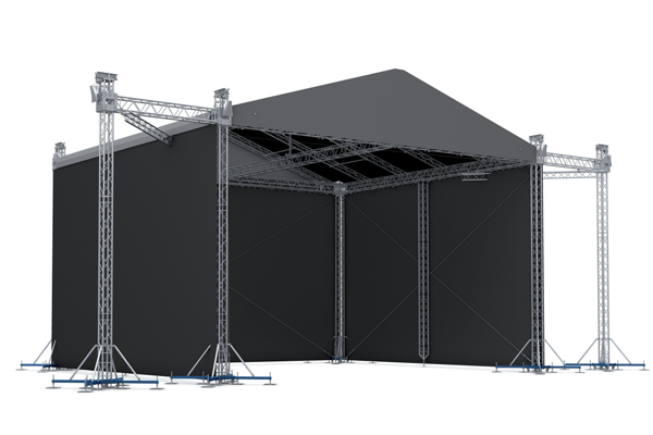Rft003 Pitched Roof Truss Stage Royal Kay Industrial Limited Roof Trusses Roof Truss Design Truss Structure