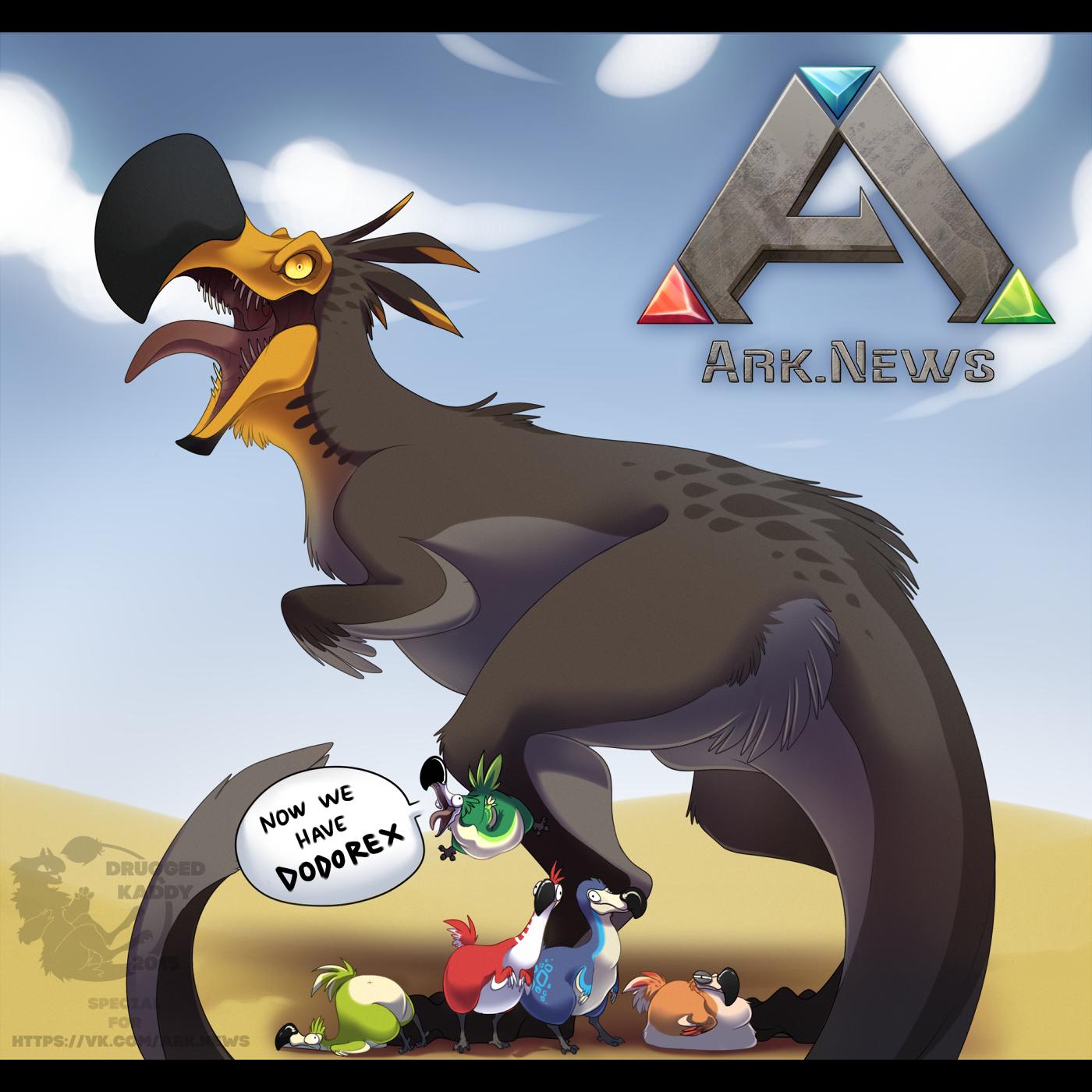 Steam Community :: Now we have DODOREX | critter concepts | Dinosaur
