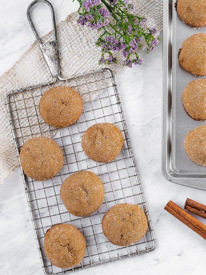 Brown Sugar Cookies with Cinnamon & Cardamom - Kickass Baker #cinnamonsugarcookies