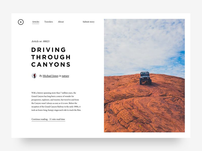 Article Preview App Design Inspiration Website Redesign Article Design