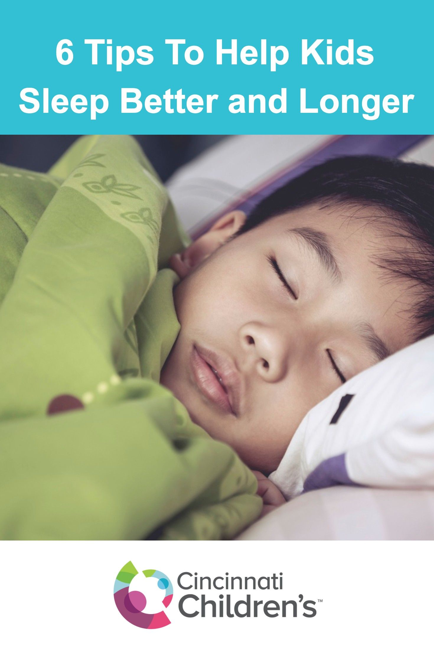 How To Help Kids Manage Sleep >> 6 Tips To Help Kids Sleep Better And Longer Children S