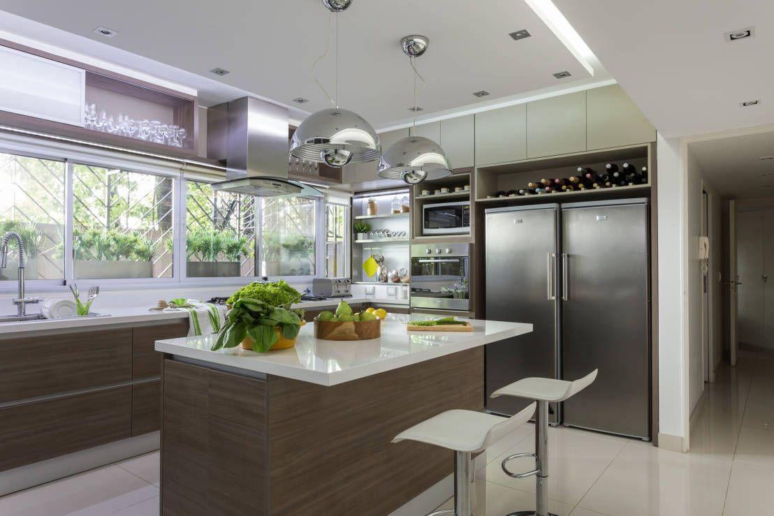 La iluminación correcta ¡transformará tu cocina! | Moderno, Cocinas ...