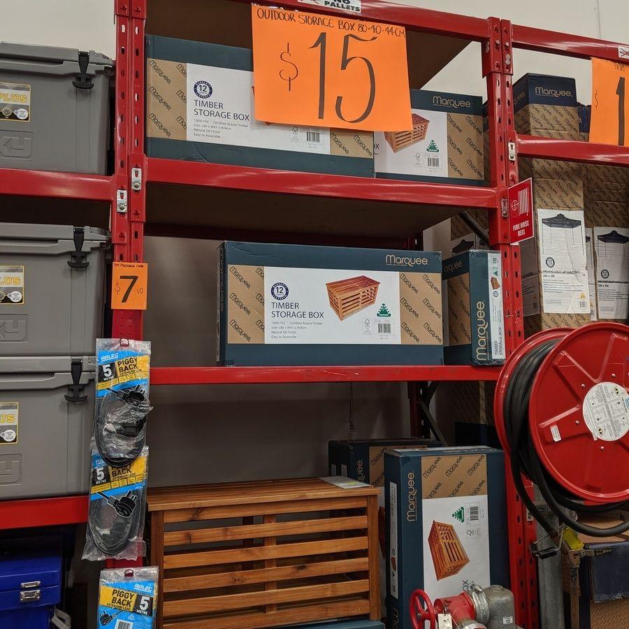 Timber Storage Box (L80xW41XH44 Cm) 15 (Was 79