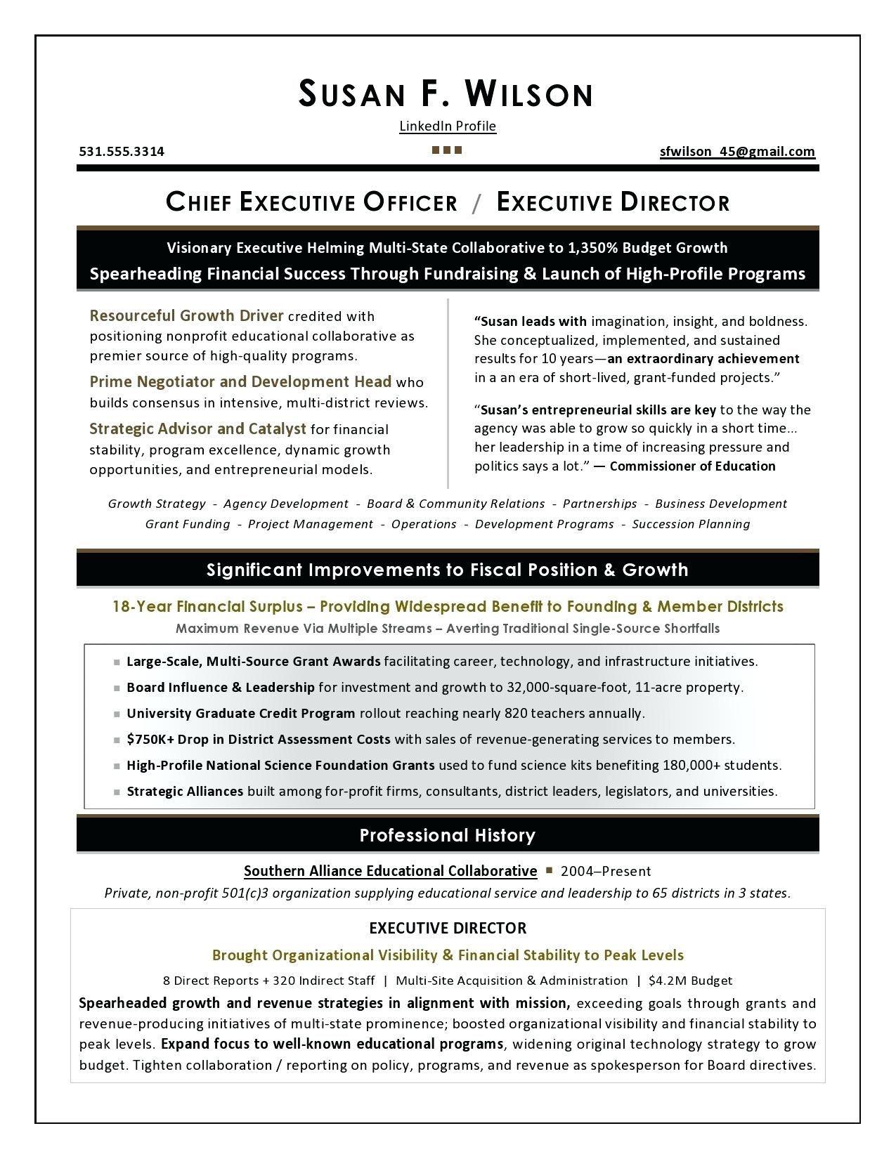 Chief operating officer resume fresh resume resume profile