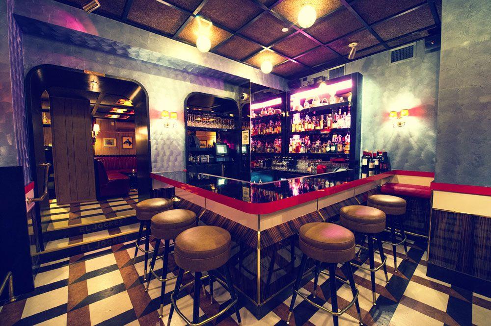Cork Tile Flooring In A NYC Restaurant Bar Cork Gluedown - Cork flooring nyc