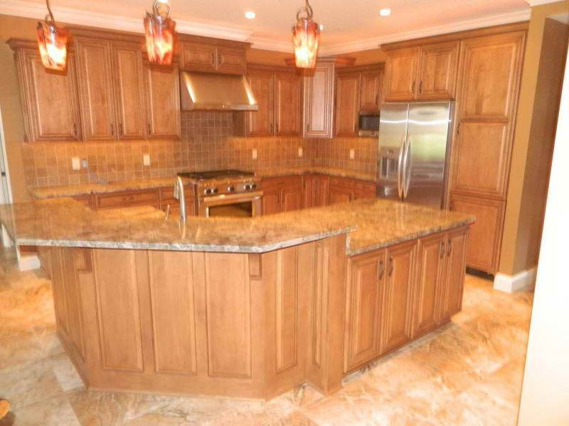 Kitchen Design Ideas With Oak Cabinets traditional light wood kitchen cabinets 05 crown pointcom kitchen 1000 Images About Kitchen Ideas On Pinterest Oak Cabinets Kitchen Paint Colors And Islands