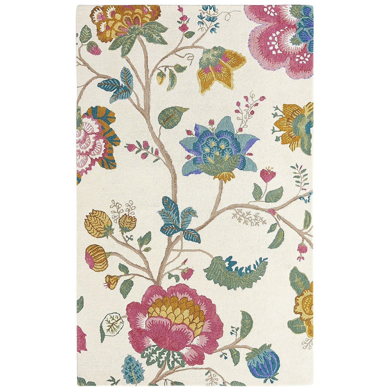 Pink Nerine Floral Rug 8x10 Floral Rug Rugs Pink Rug