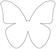 Butterfly Template For Sewing  Google Search  Classroom Decor