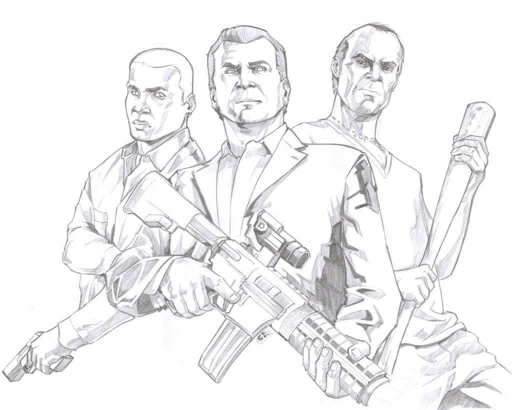 Gta 5 Coloring Pages Truck Coloring Pages Gta Coloring Pages