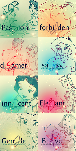 disney princess.