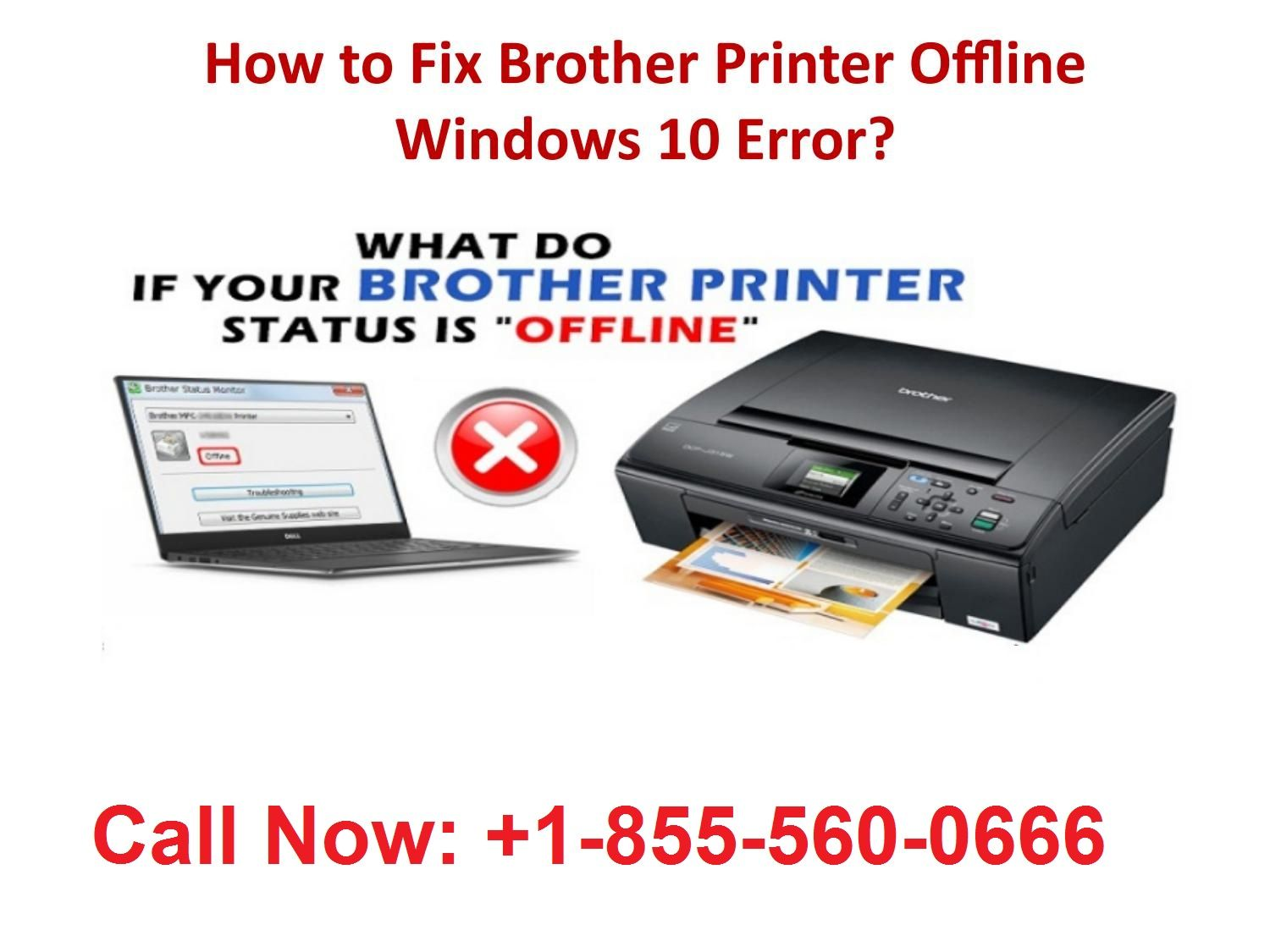 Brother printer tech support 18555600666phone number