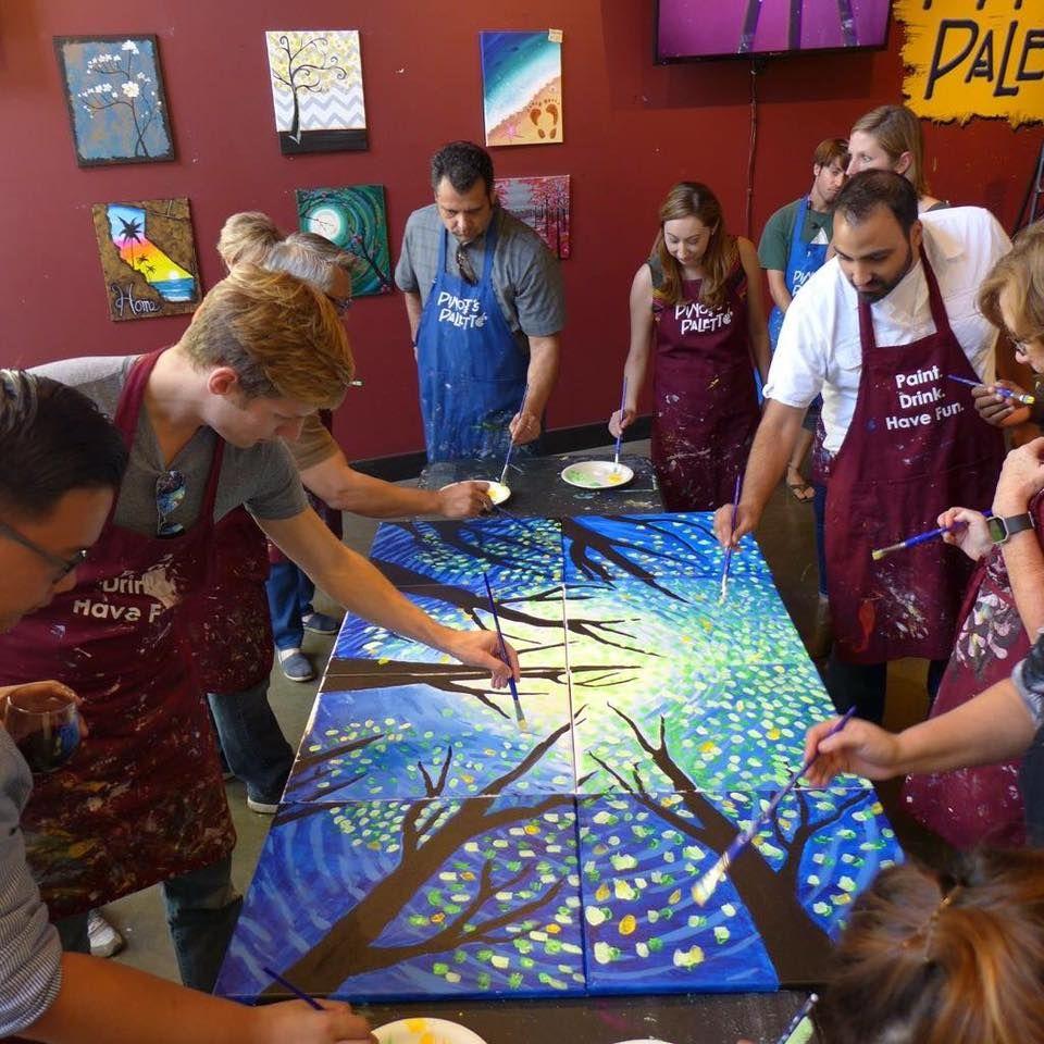 Team Building Painting Corporate Team Building Activities Building Painting Work Team Building